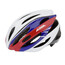 Alpina Cybric Helmet white-blue-red